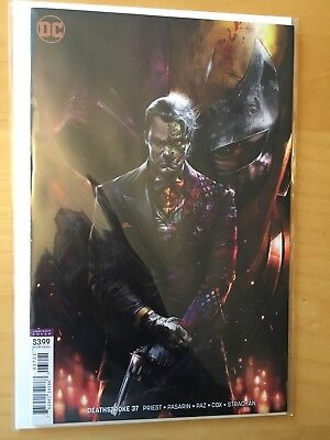 Deathstroke 37, Nm- 9.2 1St Print, Matina Cover B Variant