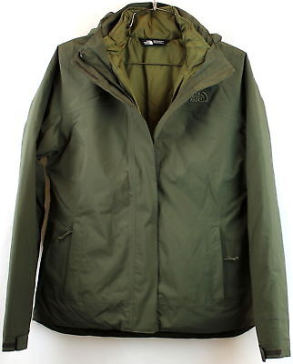 North Face Womens CARTO Triclimate New Taupe Green Standard Fit Size L