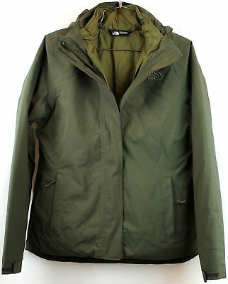 North Face Womens CARTO Triclimate New Taupe Green Standard Fit Size M