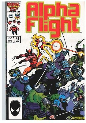 Marvel Alpha Flight 34  Wolverine