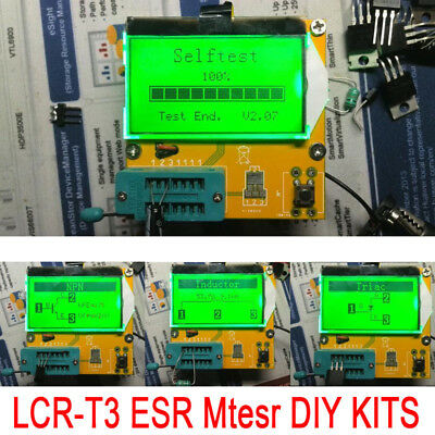 DIY Graphical Tester Multi-Function Kit Capacitor Inductance LCR-T3 SCR Latest