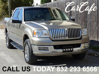2006 Lincoln Mark Series LT 4X4 06 LINCOLN MARK LT 5.4L V8 4X4! WHITE LEATHER SEATS! COLOR MATCHED BED COVER!