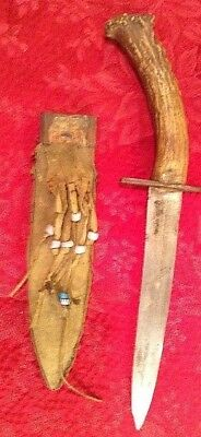 Extremely Rare 150 Year Old Native American Knife