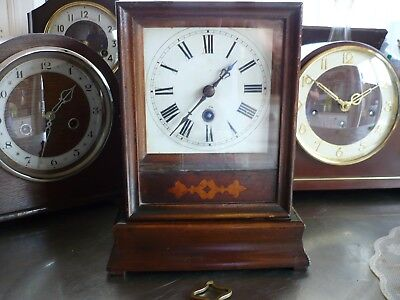 Antique French /german Cabinet Mantle Clock