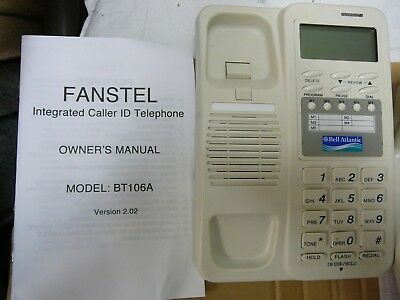 fanstel caller id 5 one touch buttons cord  phone bt106a