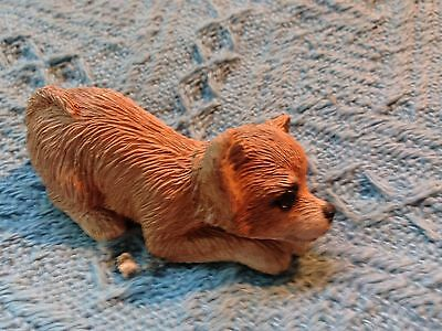 """Nos Sandicast """"laying Chihuahua"""" Small Figurine"""