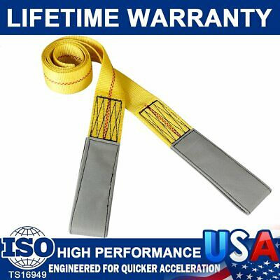 "Brand New 2"" x 6 ft Nylon Web Lifting Sling Tow Strap 1 Ply FLAT LOOP LIFT Strap"