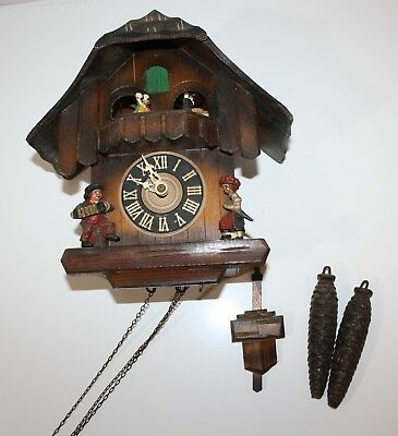 Kuner Black Forest Cuckoo Clock Made in Germany #706-7640 Untested