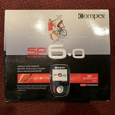 Compex SP 6.0 Wireless Muscle Stimulator Recover Strength Muscle Relax