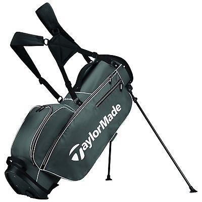 TaylorMade 2017 TM 5.0 Stand Golf Bag      Color: Grey / White
