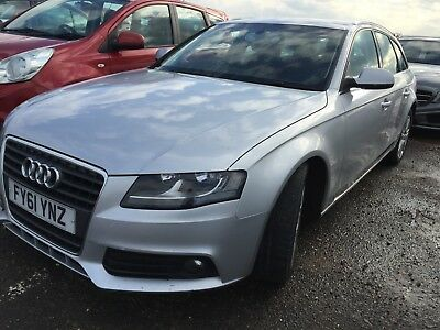2011/61 Audi A4 Avant 2.0 Tdie 136 Se Manual *8 Stamps & Long Mot* Nice Example!