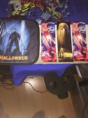 Rare Michael Myers Halloween Pot Hot Holder And Book Marks Horror Ghost Bob Cool