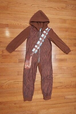 Star Wars Chewbacca Youth One Piece sz 8 brown