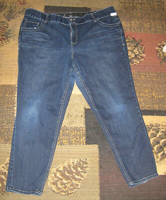 Lane Bryant Tighter Tummy Technology Straight Leg Jeans Size 24 - Good used