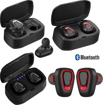 TWS Bluetooth Earbuds Headset Stereo Headphone Earphones for Samsung A9 A8 S9 S8