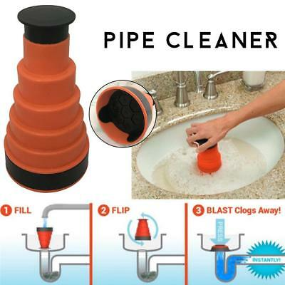 Bath Kitchen Sink Power Pipe Dredging Tool Sewer Pipe Cleaner Pipe Dredger