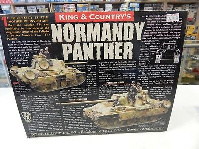 King and Country WW11 German Panther Tank Normandy  WS072