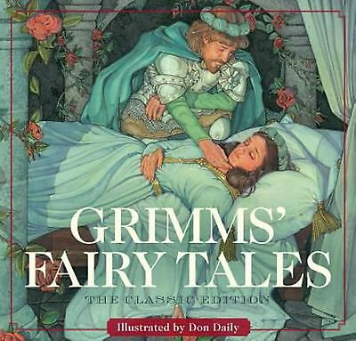 Grimms' Fairy Tales by Daily (English) Hardcover Book Free Shipping!
