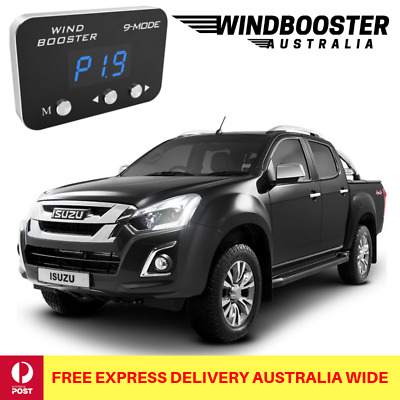 Windbooster 9-Mode Throttle Controller to suit Isuzu DMAX 2012 Onwards