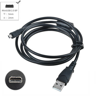 3.3ft USB Battery Charger Data SYNC Cable for Sony Cybershot DSC-W800 B/S Camera