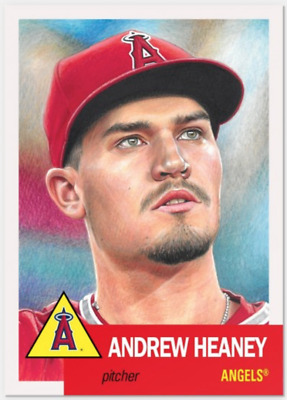 2018 Topps Living Baseball Set Card # 111 ANDREW HEANEY Anaheim Angels