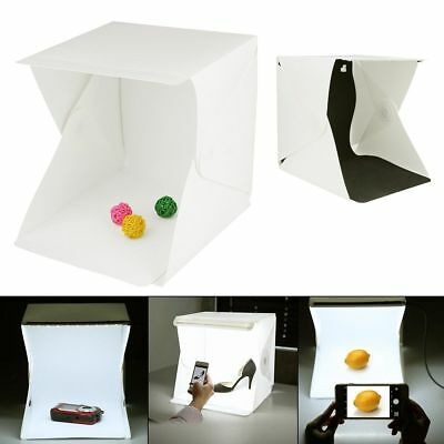 Light Room Photo Studio Photography Lighting Tent Kit Backdrop Cube Box 9inch