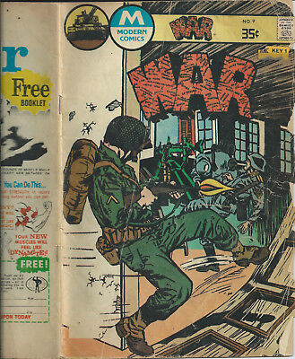 WAR (3 comics (Modern / Charlton)  no. 9 (1976), no. 23 (1980), no. 28 (1981)