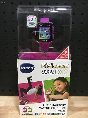 Vtech Kidizoom Smart Watch Dx2 Pink 4+ Years Dual Cameras - New In Box