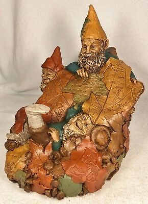 AUTUMN LEAVES-R~1996~Tom Clark Gnome~Cairn Item #5304~Edition #99~Story Included