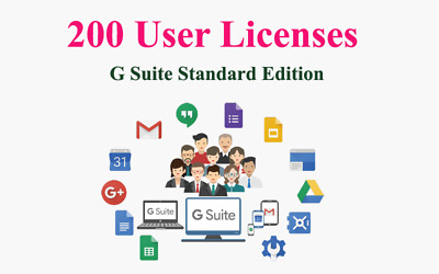 Domain name with 200 users for G Suite legacy free