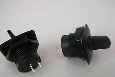 5 Pcs R13-402 Black ON-ON 3Pin 2Position Maintained SPDT Round Toggle Switch pn