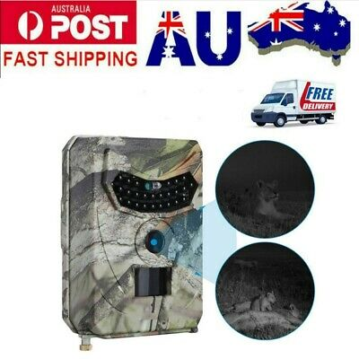 1080P HD 12MP Hunting Scout Trail Camera Night Game Wildlife Waterproof