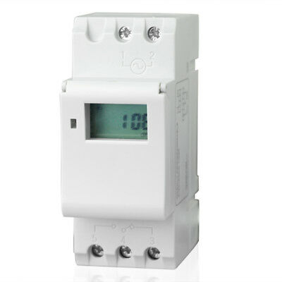 Digital LCD Programmable Electronic Timer Switch THC 15A 110V AC 220V