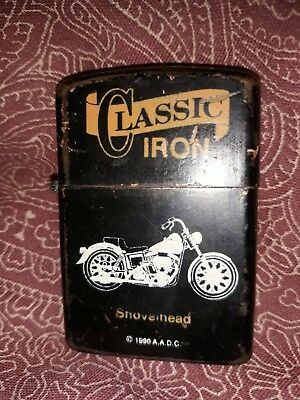 Classic Iron Motorcycle Lighter