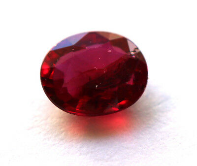 0,48 ct Beau Rubis Naturel Non traité