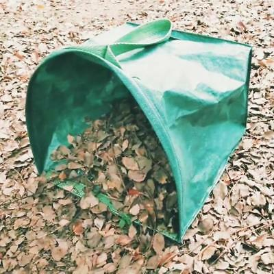 Lawn And Leaf Bags Reusable Garden Collapsible Yard Dustpan-Type Container Bag