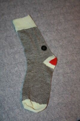 Wine bottle sock monkey cover for wine lovers