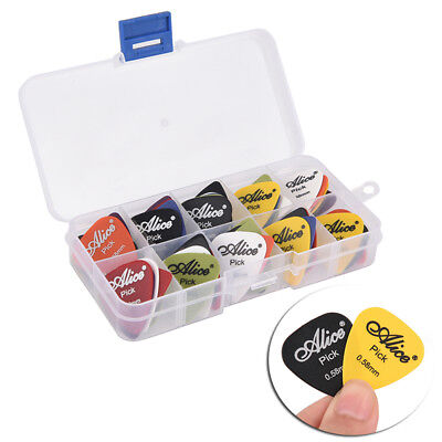 50X Electric Guitar Pick Acoustic Music Picks Plectrum Guitar Accessories LC