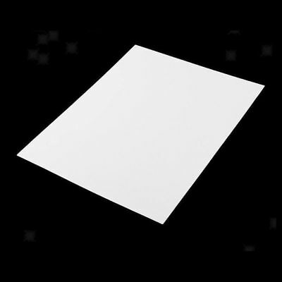 5pcs ABS Plate Model Styrene Sheet For DIY House Ship Smooth Toy Wide 0.5mm- 2mm