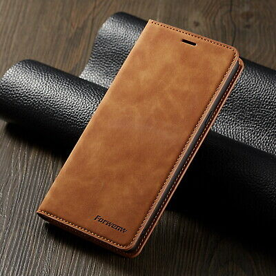 For Samsung Galaxy Note 9 S8 S9 Luxury Wallet Leather Magnetic Phone Case Cover