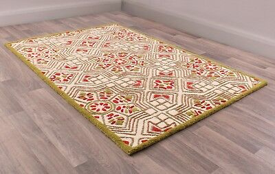 Fusion Timor Multi Coloured Luxury Handtufted Wool Rug in various sizes