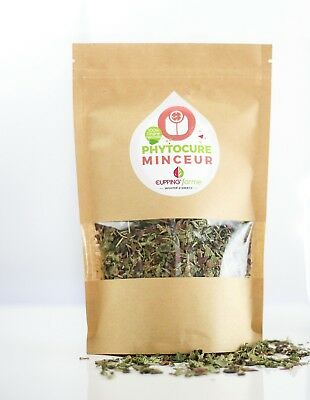 TISANE Minceur & Silhouette 100% naturelle Cupping forme 50g vrac infusion Thé