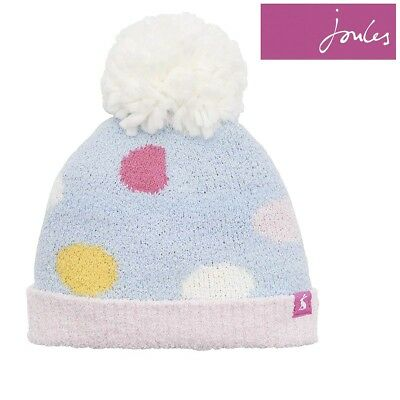 cb19a4be25e Joules Baby Girl Chenille Knitted Bobble Hat (Z)