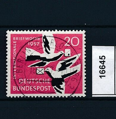 16645) Ideal: Bund MiNr. 276 (1) Berlin-Charlottenburg 2 u Originalgummierung !!