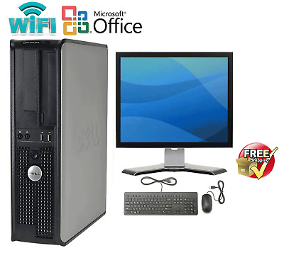 CLEARANCE! Fast Dell Desktop Computer PC DUAL CORE WINDOWS 10 4/8/16GB RAM