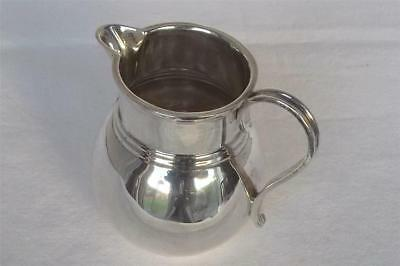A SUPERB SOLID STERLING SILVER CREAM JUG LONDON 1929 BY MAPPIN & WEBB Ltd.