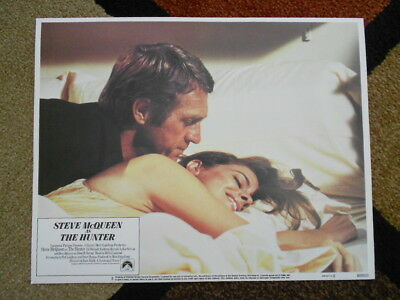 THE HUNTER Vintage 1980 Lobby Card #5 Paramount Pictures Steve McQueen - cool!