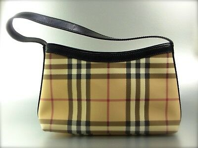 62a2d8c7fbcdd Original Burberry Tasche Handtasche Mini Nova Check Canvas Beige Small Bag