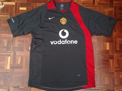 84eebf641 2004 Nike Total 90 Manchester United Football Club Soccer Jersey Mens Sz  Large