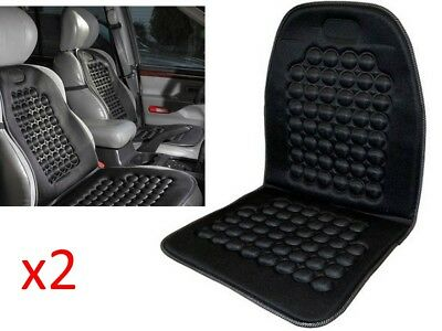 2 x Universal Car Seat Cushion Padded Massage Van Vehicle Interior Protector